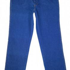 Blugi BLUE ROCK - (MARIME: 42 ~ 36-38) - Talie = 96 CM, Lungime = 117 CM - Blugi barbati, Culoare: Albastru, Prespalat, Drepti, Normal
