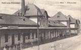 FELDIOARA-RAZBOIENI ,  GARA, Necirculata, Printata