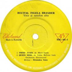 "Ingela Brander - Recital Ingela Brander (7"")"
