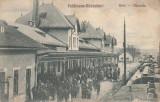 GARA  FELDIOARA-RAZBOIENI  GARA, Circulata, Printata