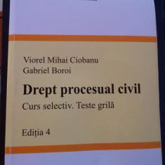DREPT PROCESUAL CIVIL, VIOREL MIHAI CIOBANU, GABRIEL BOROI - Carte Drept procesual civil