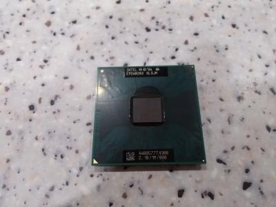 Procesor laptop intel T4300 dual core 2,10/1M/800 socket P foto