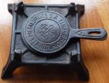 Spirtiera interbelica din fonta , Uzinele Metalurgice Orion din Cluj