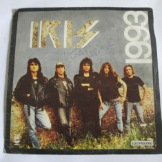 RAR! VINIL L.P. IRIS 1993 CU AUTOGRAF CRISTI MINCULESCU, STARE SLABA(UZAT) - Muzica Rock electrecord