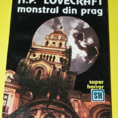 Monstrul din prag - H P Lovecraft (05411 - Carte Horror