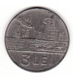 Romania (R.S.R.) 3 lei  1966, Nichel