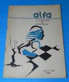 Revista ALFA sf LITERATURA DE ANTICIPATIE NR 1 1990 robert sheckley (r5017