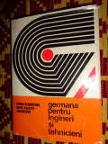 Germana pentru ingineri si tehnicieni 560pagini