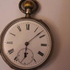 CEAS VECHI DE BUZUNAR -SWISS MADE-FARA NUME-MASINA SUPER-FUNCTIONEAZA-D=4, 5CM - Ceas de buzunar vechi