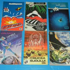 Revista labirint CLUBUL SF NR 1-6 Danut Ungureanu Catalin Ionescu Eugen Lenghel - Carte SF
