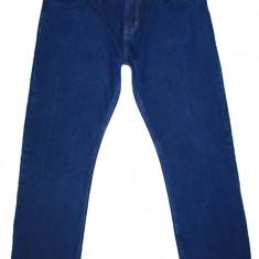 Blugi DENIM CO. - (MARIME: 36 x 32) - Talie = 96 CM / Lungime = 108 CM - Blugi barbati, Culoare: Albastru, Prespalat, Drepti, Normal