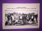 Valeni de Munte - Un grup de excursionisti, Circulata, Fotografie