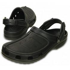 Saboti Crocs Yukon Mesa Clog Black (CRC203261-060) - Papuci barbati Crocs, Marime: 40.5, 41.5, 42.5, 43.5, 44.5, 45.5, Culoare: Negru