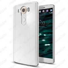 Husa protectie silicon transparent Spigen SGP11793 LG V10 - Husa Telefon