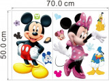 STICKER PERETE tapet desene pe pereti DISNEY camera copii Mickey Mouse  70x50 cm