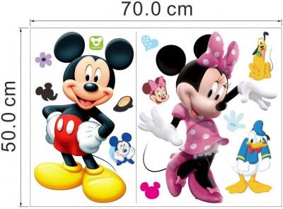 STICKER PERETE tapet desene pe pereti DISNEY camera copii Mickey Mouse  70x50 cm foto