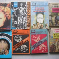 Maurice Leblanc - 8 carti politiste - Carte politiste