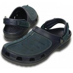 Saboti Crocs Yukon Mesa Clog Navy (CRC203261-463) - Papuci barbati Crocs, Marime: 40.5, 41.5, 42.5, 43.5, 44.5, 45.5, 46.5, Culoare: Bleumarin