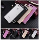 Husa / Bumper aluminiu cu spate acril pentru Huawei P9, Alt model telefon Huawei, Negru