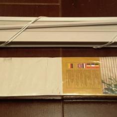 Jaluzele orizontale PVC diferite marimi, culoare ALB. pret lichidare stoc