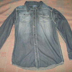 Camasa de blugi/jeans barbati LEE COOPER denim, noua, marimea XL - Camasa barbati Lee Cooper, Culoare: Din imagine, Maneca lunga