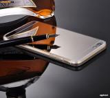 Husa iPhone 6 Plus 6S Plus TPU Ultra Thin Mirror Silver, Gri, Gel TPU, Apple