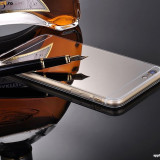 Husa iPhone 6 Plus 6S Plus TPU Ultra Thin Mirror Silver - Husa Telefon Apple, Gri, Gel TPU, Fara snur, Carcasa