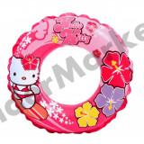 Colac de inot bebe cu Hello Kitty - 61cm - Colac plaja