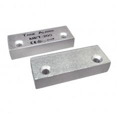 Contact magnetic metalic aluminiu aparent alarma usa metalica Tane MET 200