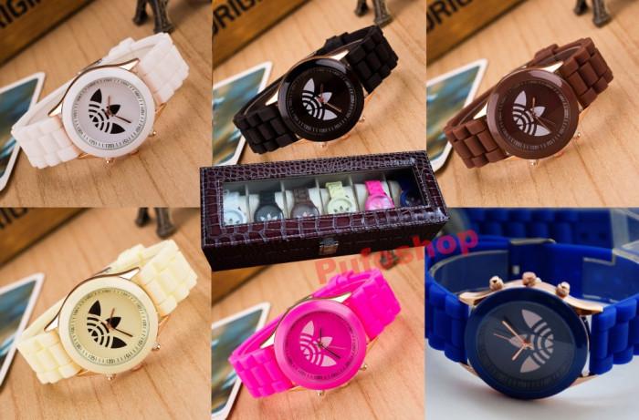 Pachet SPECIAL 6 ceasuri sport de dama + cutie cu compartimente CADOU foto mare
