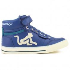 Adidasi copii DRUNKNMUNKY BOSTON CLASSIC 197| BLUE - Ghete copii Drunknmunky, Marime: 24, 32, Culoare: Din imagine, Unisex, Piele sintetica