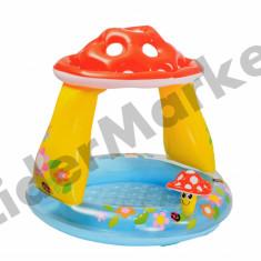 Piscina gonflabila Intex cu acoperis in forma de ciuperca 57114 - Piscina copii