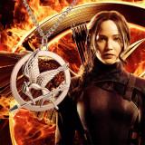 PANDANTIV CU LANTISOR The Hunger Games JOCURILE FOAMEI pasare Katniss Everdeen