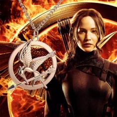 PANDANTIV CU LANTISOR The Hunger Games JOCURILE FOAMEI pasare Katniss Everdeen - Pandantiv fashion