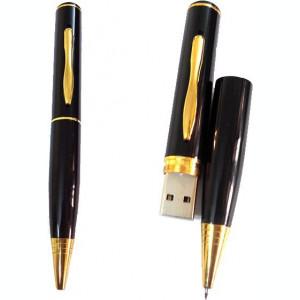 Pix Spion Spay Pen camera ascunsa camera video, memorie interna 4Gb 30 fps