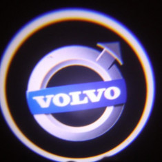 Set 2xProiector LED CREE LOGO VOLVO sigla universale auto fata portiere - Proiectoare tuning