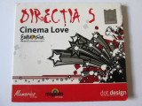 CD DIRECTIA 5 ALBUMUL CINEMA LOVE/CAT MUSIC 2010, cat music