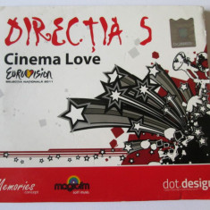 CD DIRECTIA 5 ALBUMUL CINEMA LOVE/CAT MUSIC 2010 - Muzica Rock