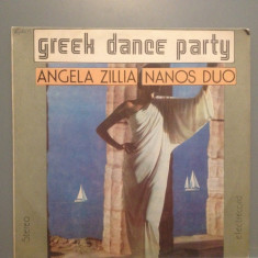 GREEK DANCE PARTY - A.ZILLIA (EDE 02788/ELECTRECORD ) - VINIL stare PERFECTA - Muzica Dance