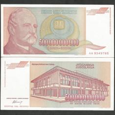 IUGOSLAVIA 500000000000 500.000.000.000 DINARI 1993 a UNC [1] P-137 - bancnota europa