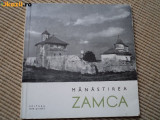 Manastirea Zamca editura meridiane carte istorie ilustrata foto alb negru hobby, Alta editura