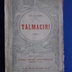 Talmaciri - St. O. Iosif / R2P4S