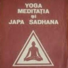 Yoga meditatia si Japa Sadhana de Swami Krishnananda Colectia Lotus - Carti Hinduism