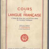 CURS DE LIMBA FRANCEZA ,TEOLOGIE 1961