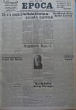 Epoca , ziar al Partidului Conservator , 8 Martie 1935 , Hagi Mosco , Filipescu