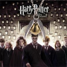 Pandantiv Lantisor Harry Potter Quidditch Golden Snitch Angel Wing Pocket - Pandantiv fashion