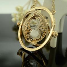 Pandantiv | Colier Lantisor Harry Potter Time Turner Clepsidra Hermione Granger - Pandantiv fashion