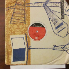 PVM - Disc turatie 78 (patefon, pick-up) Roxana Matei & Leia Ivanova - Muzica Pop electrecord, VINIL
