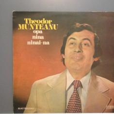THEODOR MUNTEANU - OPA NINA NINAI (EDE 02209/ELECTRECORD )- VINIL stare PERFECTA - Muzica Pop