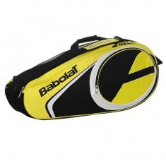 Geanta Babolat Club 6 Racket - Originala - Anglia - Dimensiuni L73 x W33 x D25 - Geanta tenis